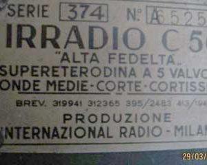 Irr.c56 Targa