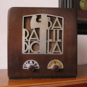 Watt Radio Mod. Balilla